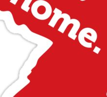 New Jersey Home Red Sticker