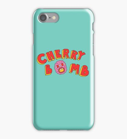 Tyler The Creator - Cherry Bomb (plain) iPhone Case/Skin