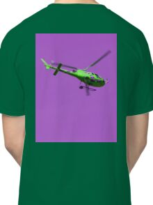 Green & purple helicopter Classic T-Shirt