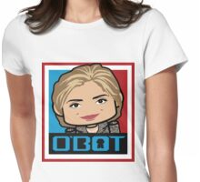 Hillary Politico'bot Toy Robot 3.0 Womens Fitted T-Shirt