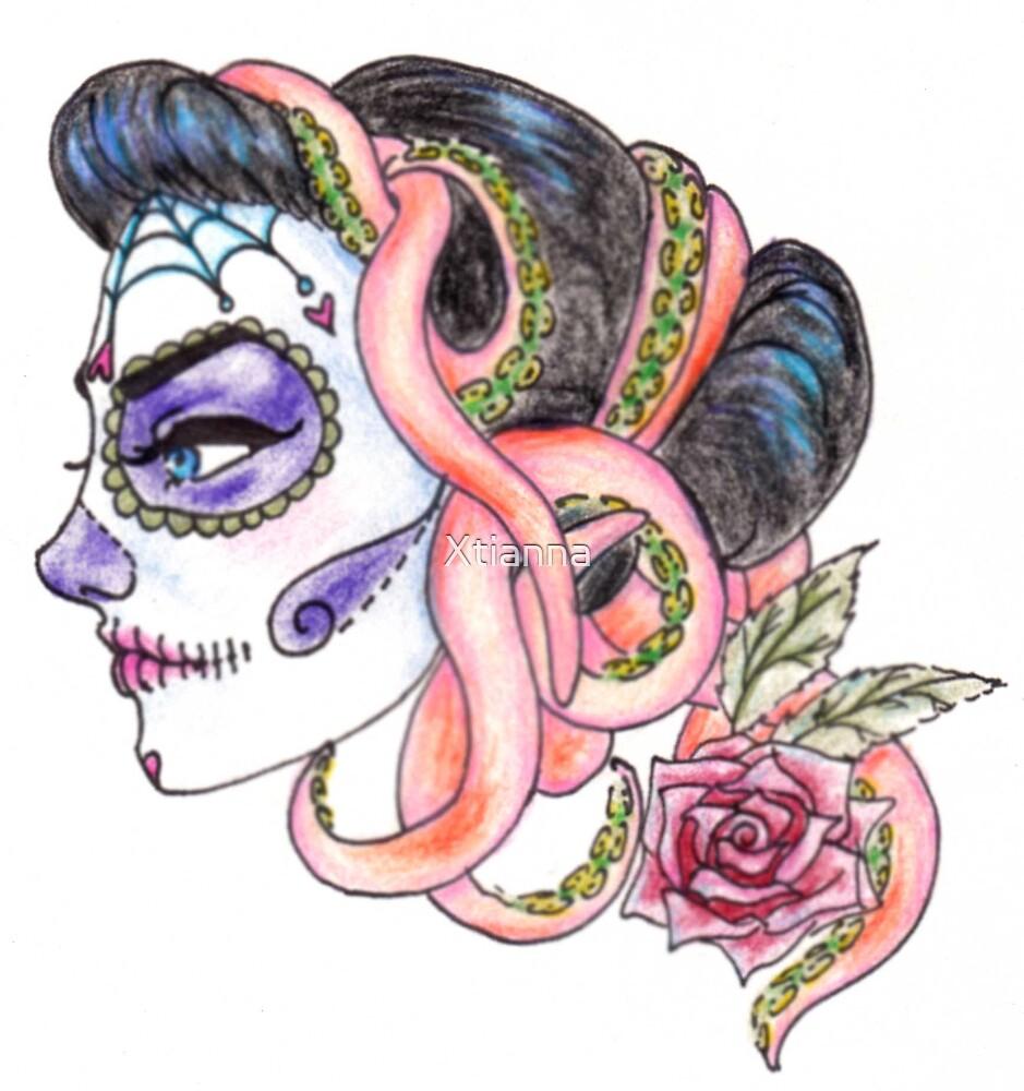 senorita de los muertos by Xtianna