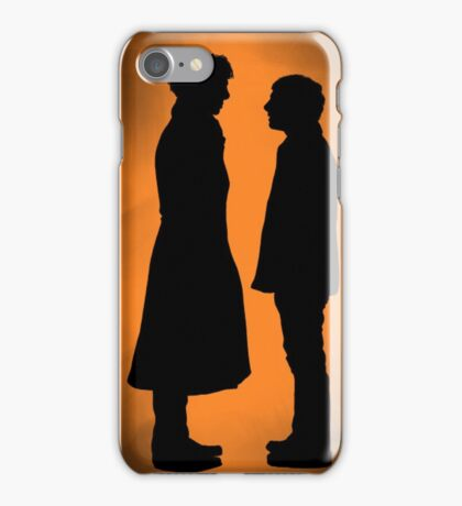 the doctor and his detective  iPhone Case/Skin