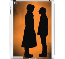 the doctor and his detective  iPad Case/Skin