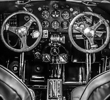 1929 Ford Tri-Motor Cockpit by Chris L Smith