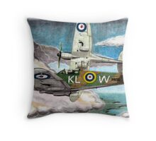 """Tally Ho"" Throw Pillow"