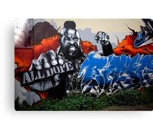 carlton Graffiti Canvas Print
