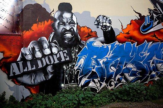 carlton Graffiti by Rosina  Lamberti