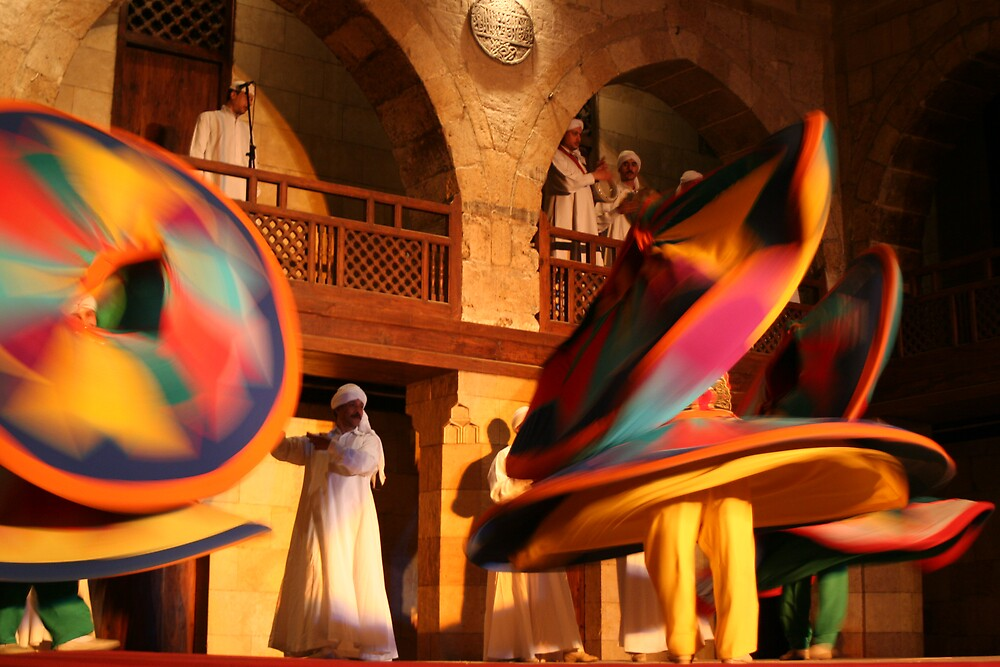 Whirling Dervishes by Deirdreb