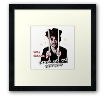 Will Graham This Is My Design  Framed Print