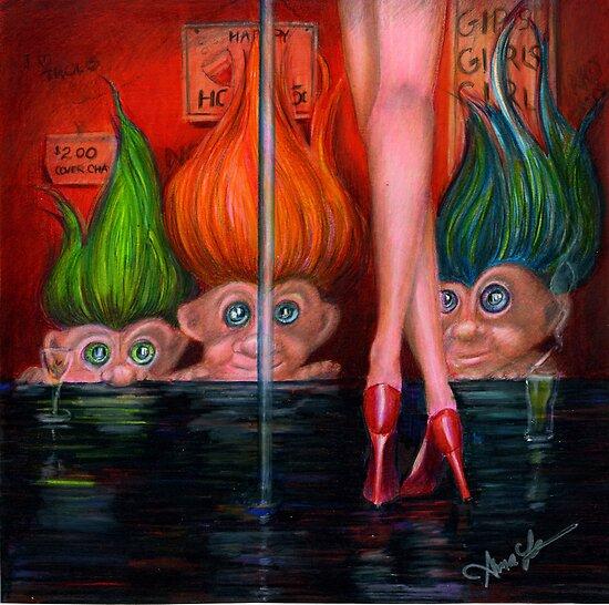 Trollin by Alma Lee by Alma Lee