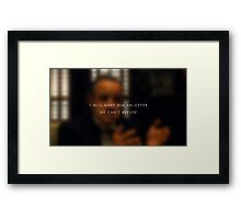 An offer he can't refuse Framed Print