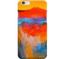 Landscape Abstract...The Niagara Escarpment iPhone Case/Skin