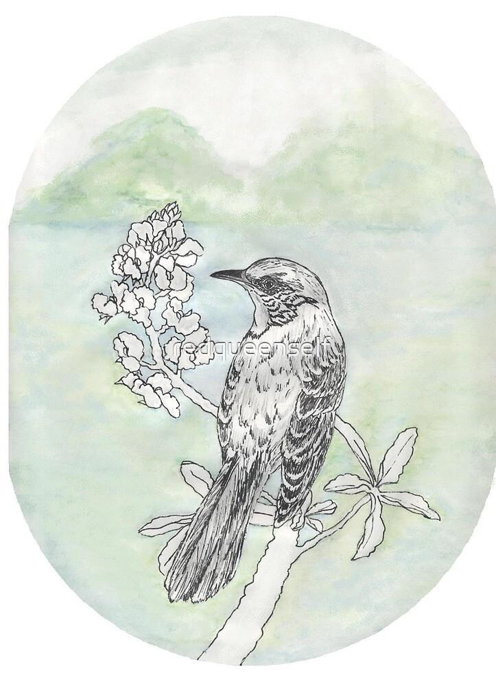 Mockingbird by redqueenself