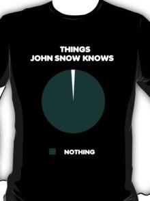 Things John Snow Knows T-Shirt