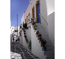 Typical greek corner Photographic Print