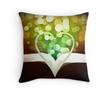 The One Book That Is Full Of LOVE Throw Pillow