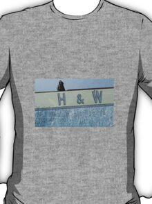 Belfast Game of Thrones H&W Jon Snow Crossover. T-Shirt