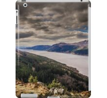Loch Ness and Nevis Range from Dun Deardail iPad Case/Skin