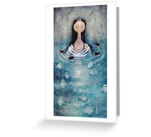 lOve floats to the top  Greeting Card