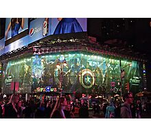 Avengers on Broadway. Photographic Print