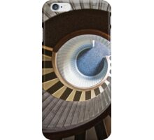 Old Point Loma Lighthouse Staircase iPhone Case/Skin