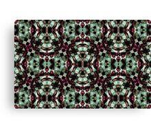 Geometric Abstract Grunge Pattern Canvas Print