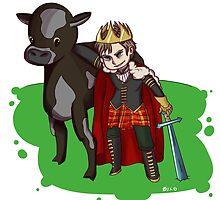 Mad King Ryan & Edgar by zer0percent
