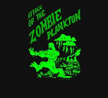 Zombie Plankton [dark colours version] Womens Fitted T-Shirt
