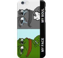 MEGA BONUS PEPE RARE COLLECTABLE iPhone Case/Skin