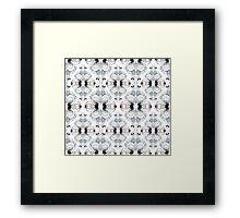 Rush pattern Framed Print