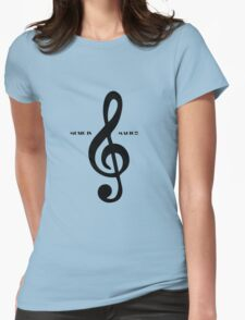 Treble clef music is magic T-Shirt