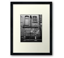 Jerry Vaughan LawnMowers Framed Print