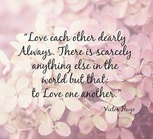 Love One Another by Debbra Obertanec