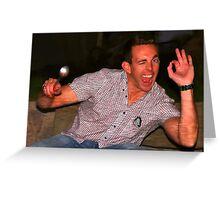 Joel DeConcini - Legend Greeting Card