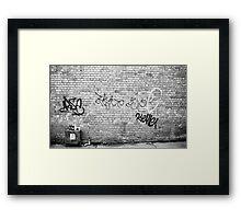 Hangout Framed Print