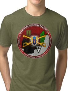 6-4 Cavalry (Operation Enduring Freedom IX) Tri-blend T-Shirt