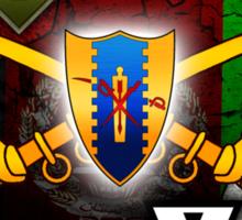 6-4 Cavalry (Operation Enduring Freedom IX) Sticker