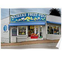 Waiheke Fruit and Veg Poster