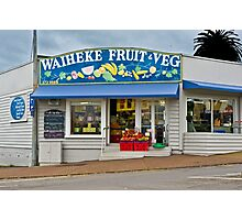Waiheke Fruit and Veg Photographic Print