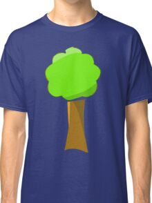 Naif tree on blue Classic T-Shirt