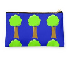 Naif tree on blue Studio Pouch