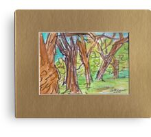 PARK SKETCH Canvas Print