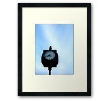 Blue sky time Framed Print