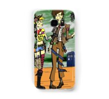 The Doctor Meets Tank Girl Samsung Galaxy Case/Skin