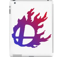 Smash Logo Red and Blue iPad Case/Skin