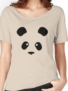 Giant Panda face less black patches Women's Relaxed Fit T-Shirt