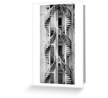 Dual Staircase Greeting Card