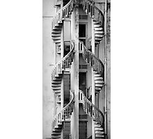 Dual Staircase Photographic Print