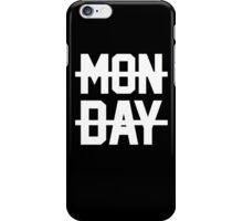 inspired MONDAY design iPhone Case/Skin
