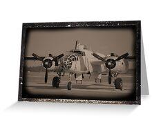 B-25 Greeting Card